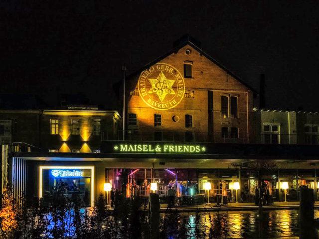 Maisel's Bier-Erlebnis-Welt mit Liebesbier in Bayreuth