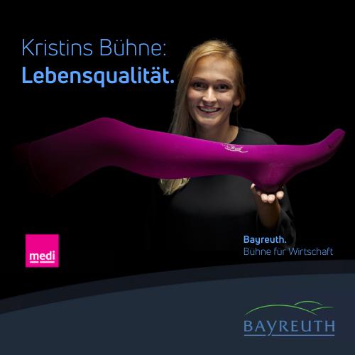 Kristins Bühne: Lebensqualität by Medi Bayreuth
