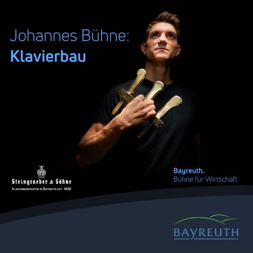 Johannes Bühne: Klavierbau bei Steingraeber & Söhne in Bayreuth