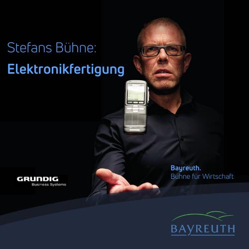Stefans Bühne: Elektronikferigung bei Grundig in Bayreuth