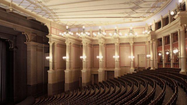 Zuschauerraum im Festspielhaus Bayreuth