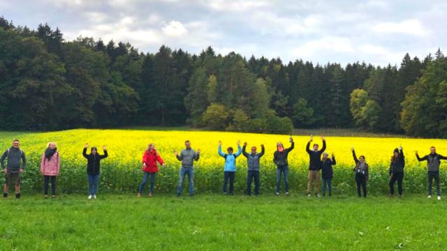 Herbstliche Bierwanderung in der Fränkischen Schweiz mit Neu-Bayreuthern