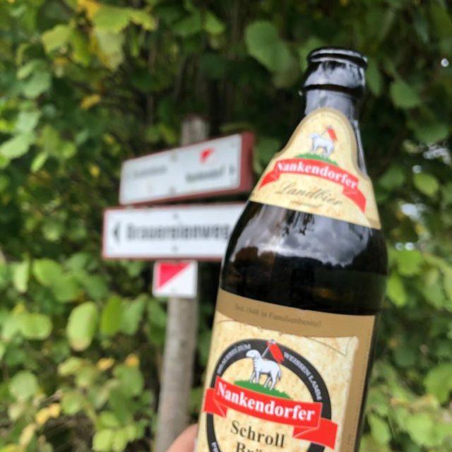Herbstliche Bierwanderung mit Schroll Bräu in der Fränkischen Schweiz mit Neu-Bayreuthern