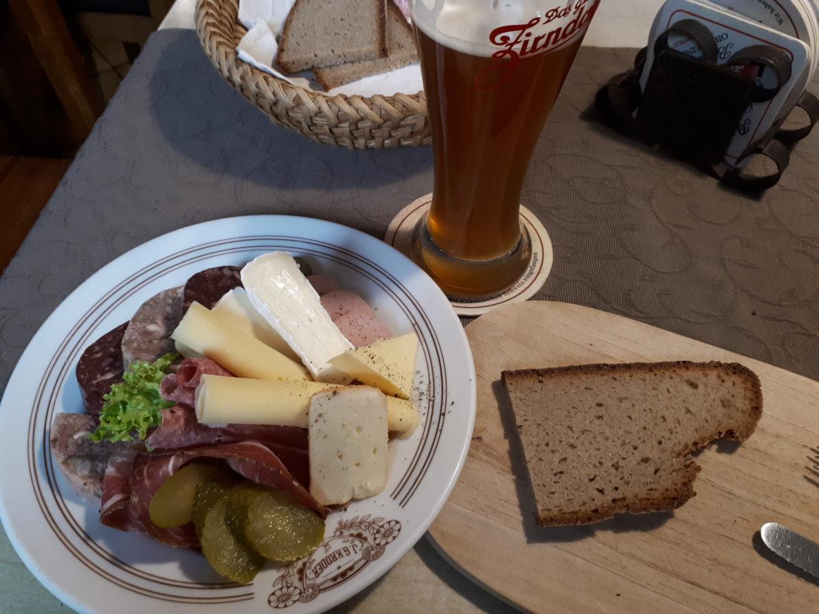 Brotzeit in der Genussregion Oberfranken