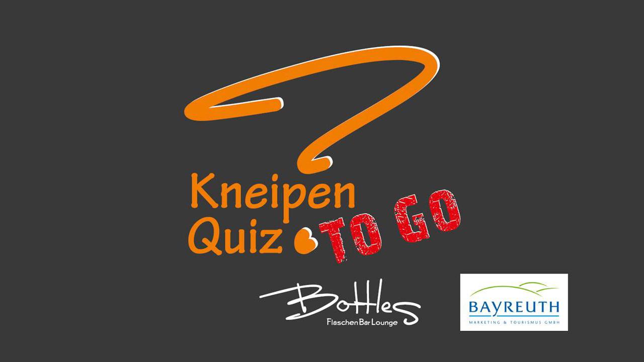 Kneipen Quiz TO GO von Bottles und dem Bayreuth Tourismus