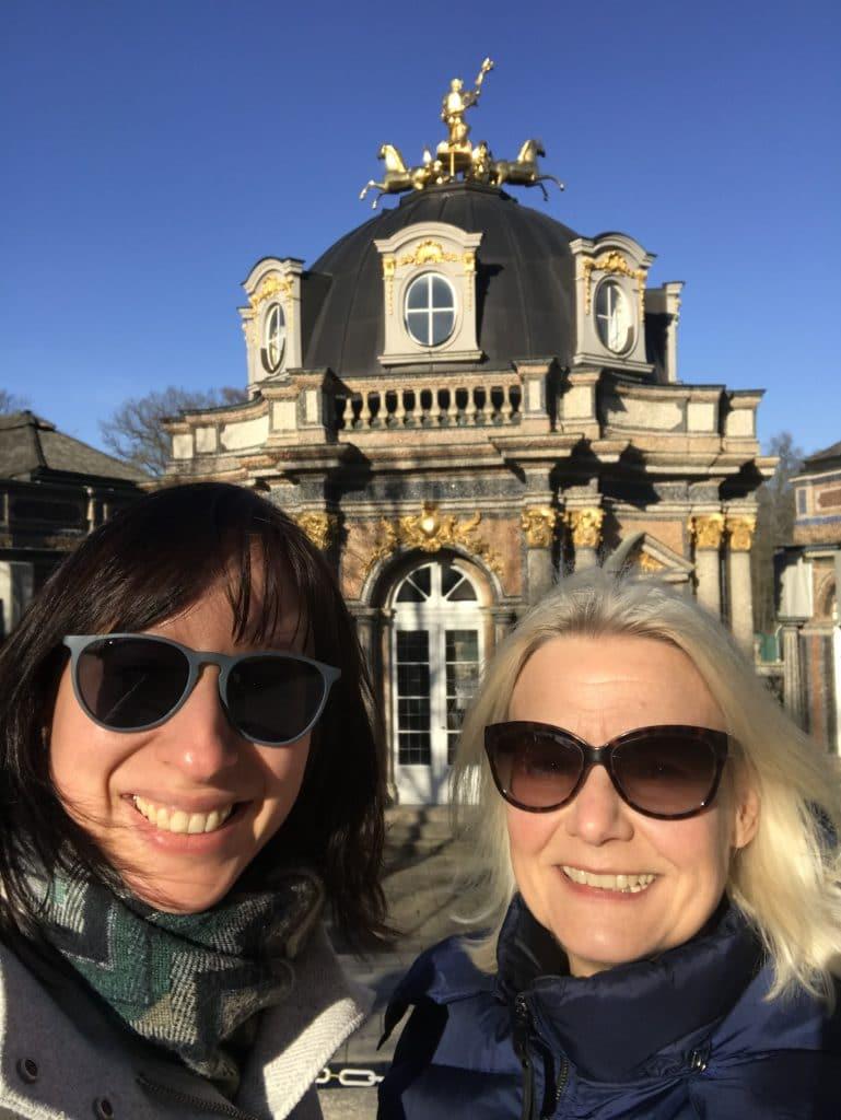 Kristina Stelzer und Annette Wodzak-Littig