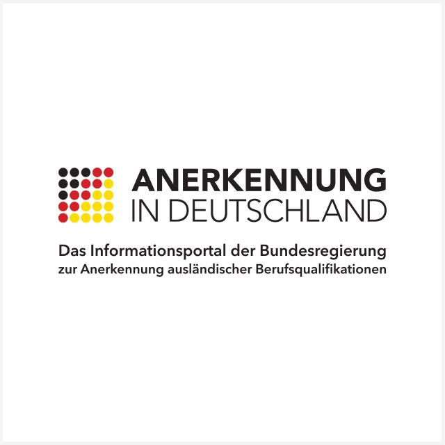 Anerkennung in Deutschland Logo