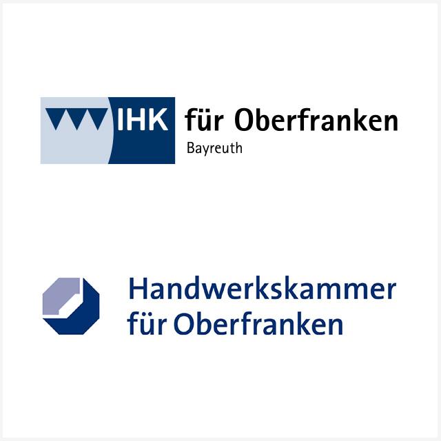 Logo IHK für Oberfranken und Handwerkskammeer für Oberfranken