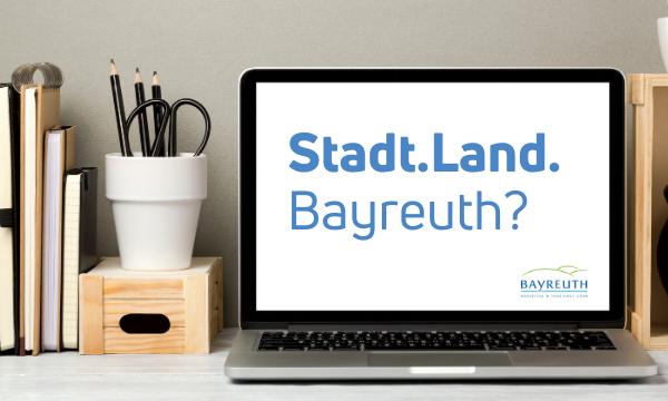 """Digitaler Spieleabend """"Stadt. Land. Bayreuth"""" am 4.Februar 2021"""