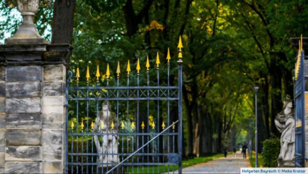 Tor zum Bayreuther Hofgarten