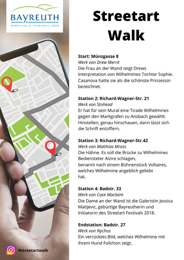 Streetart Walk Flyer