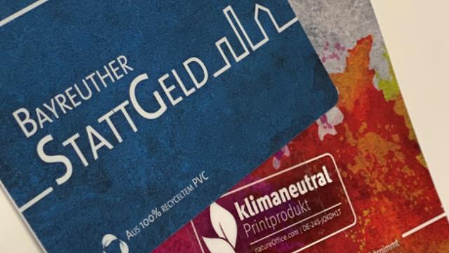 Bayreuther StattGeld-Geschenkgutschein
