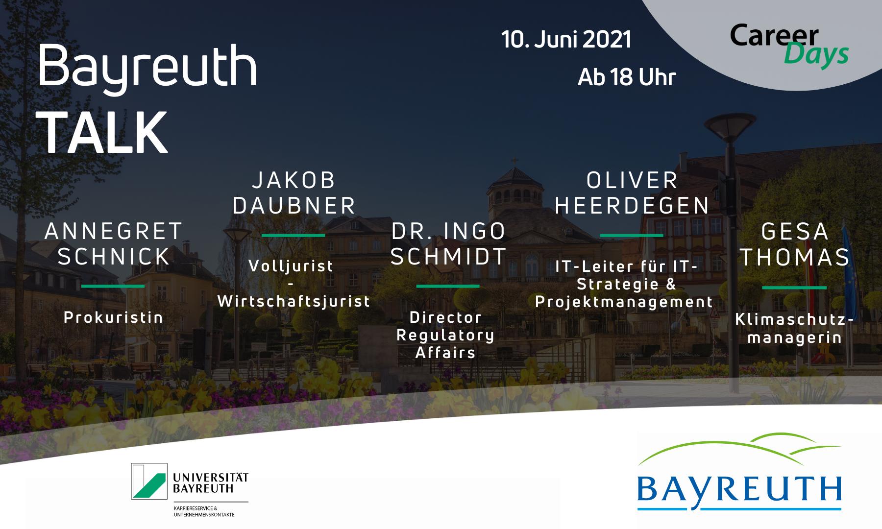 bayreuth-talk am 10.06.21