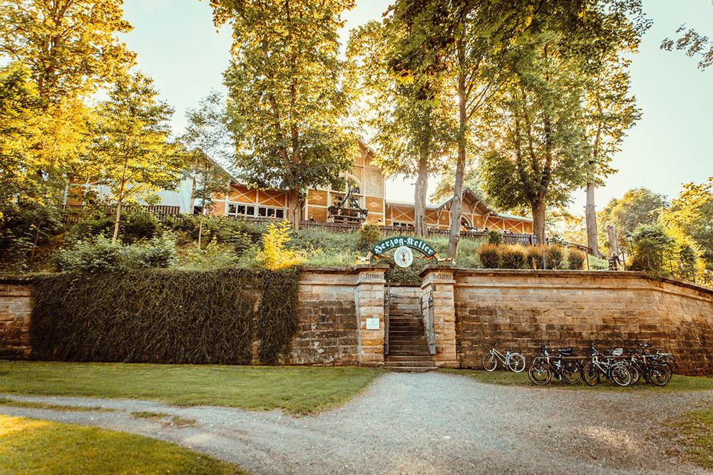 Bayreuths größter Biergarten