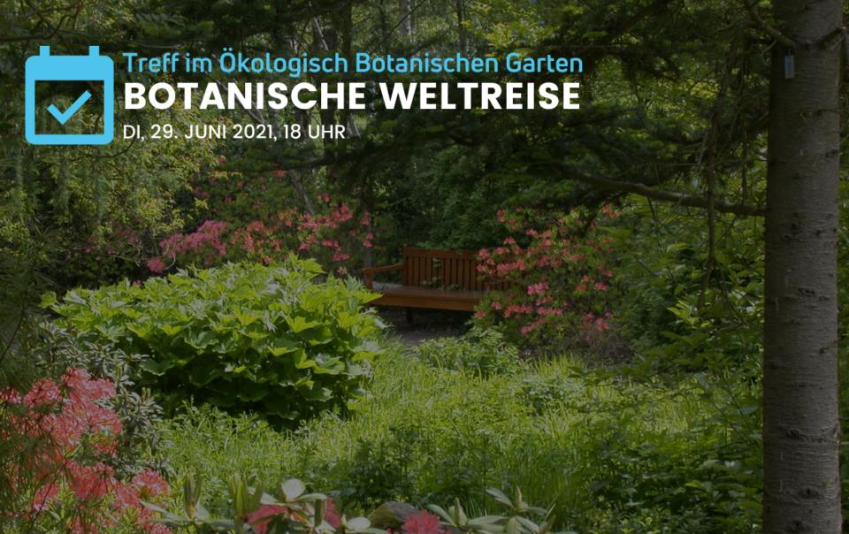 Treff für Neubürger im Botanischen Garten der Universität Bayreuth