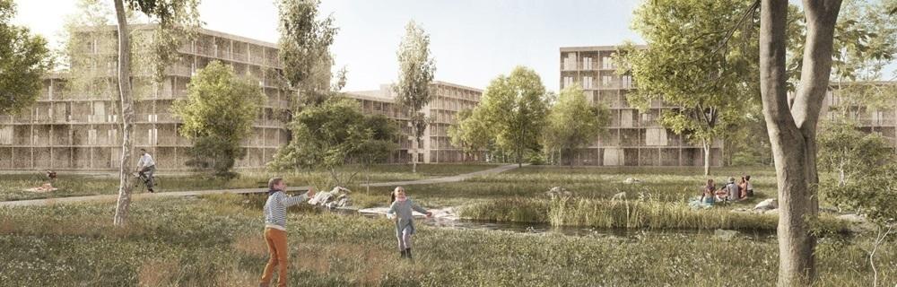 Wohn- und Gewerbepark in Bayreuth