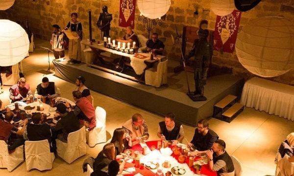 Event für Entdecker - Ritteressen auf Schloss Thurnau